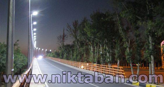 چراغ خیابانی LED مدل طلوع – ملایر